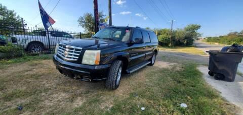 2005 Cadillac Escalade ESV for sale at C.J. AUTO SALES llc. in San Antonio TX