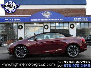 2018 Buick Cascada for sale at Highline Group Motorsports in Lowell MA
