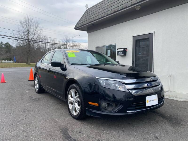 2012 Ford Fusion for sale at Vantage Auto Group in Tinton Falls NJ