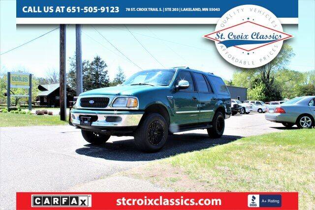 1997 Ford Expedition for sale at St. Croix Classics in Lakeland MN
