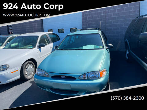 1997 Ford Escort for sale at 924 Auto Corp in Sheppton PA