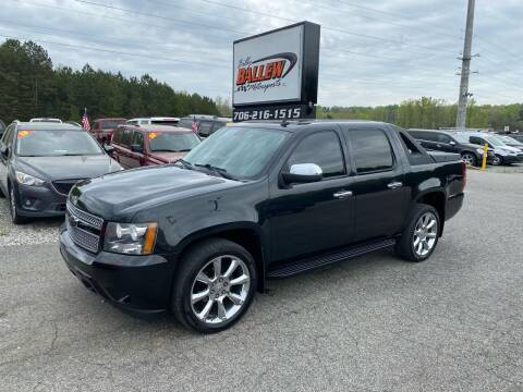 2010 Chevrolet Avalanche for sale at Billy Ballew Motorsports in Dawsonville GA