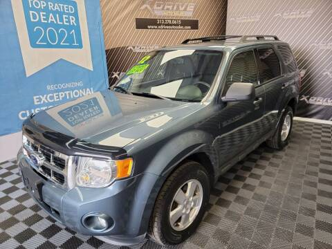 2012 Ford Escape for sale at X Drive Auto Sales Inc. in Dearborn Heights MI