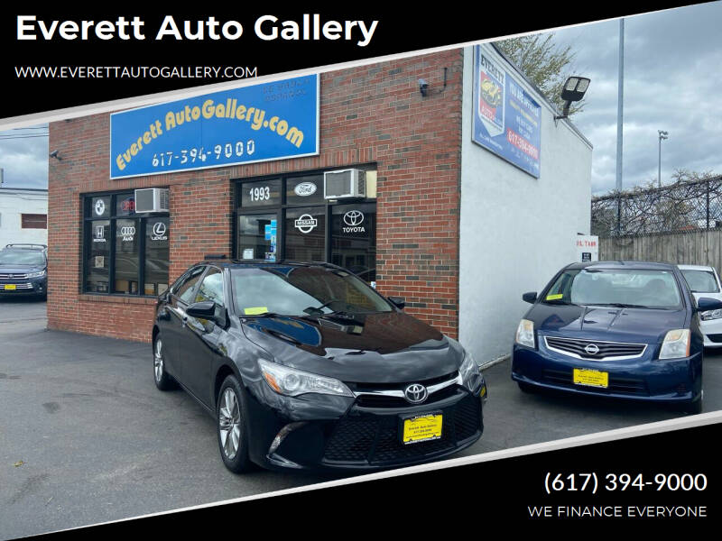 2016 Toyota Camry for sale at Everett Auto Gallery in Everett MA