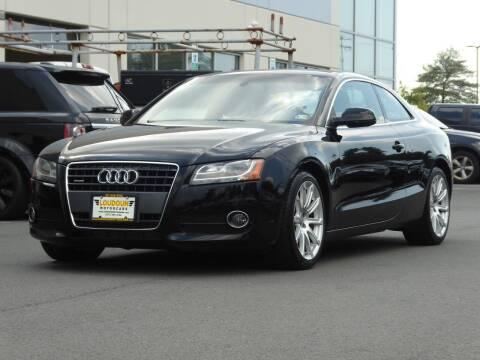 2011 Audi A5 for sale at Loudoun Motor Cars in Chantilly VA