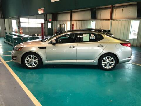 2011 Kia Optima for sale at Knoxville Wholesale in Knoxville TN