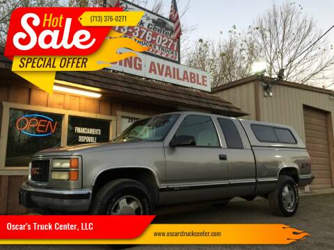 1998 GMC Sierra 1500 for sale at Oscar's Truck Center, LLC in Houston TX