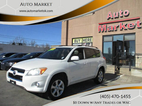 2010 Toyota RAV4 for sale at Auto Market in Oklahoma City OK
