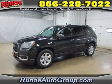 2016 GMC Acadia for sale at Runde Chevrolet in East Dubuque IL