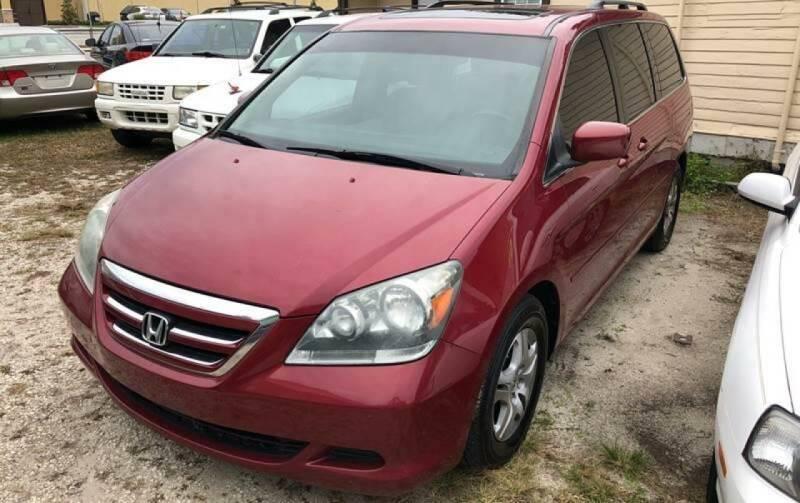 2005 Honda Odyssey for sale at Castagna Auto Sales LLC in Saint Augustine FL