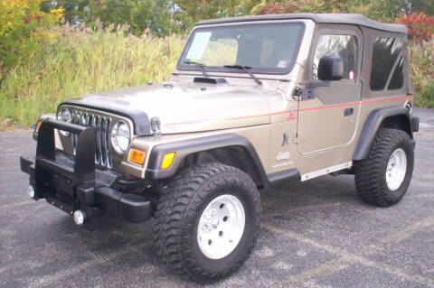 2004 Jeep Wrangler for sale at Action Auto Wholesale - 30521 Euclid Ave. in Willowick OH