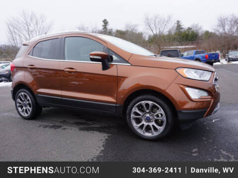 2019 Ford EcoSport for sale at Stephens Auto Center of Beckley in Beckley WV