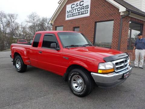 1999 Ford Ranger for sale at C & C MOTORS in Chattanooga TN