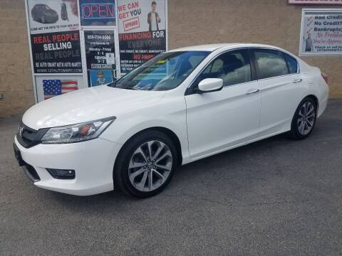 2014 Honda Accord for sale at Auto Martt, LLC in Harrodsburg KY