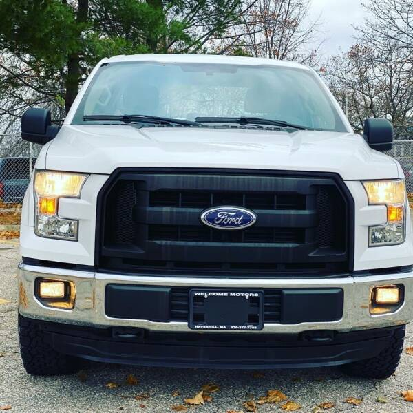2016 Ford F-150 for sale at Welcome Motors LLC in Haverhill MA