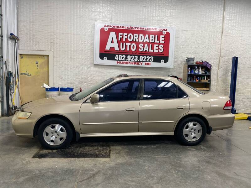 2001 Honda Accord for sale at Affordable Auto Sales in Humphrey NE