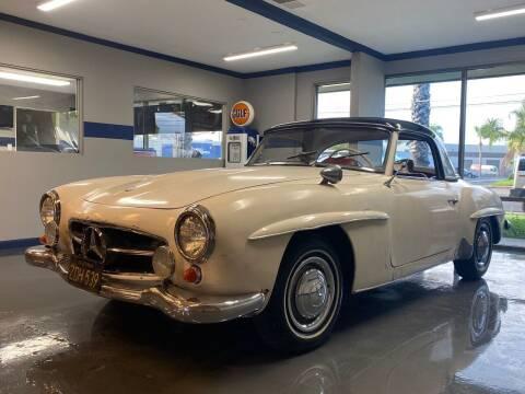 1960 Mercedes-Benz 190SL Roadster for sale at Gallery Junction in Orange CA