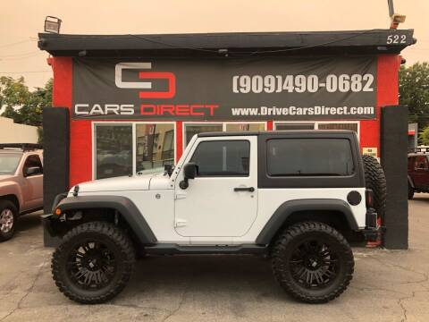 2016 Jeep Wrangler for sale at Cars Direct in Ontario CA