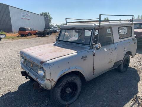 1965 IHC Scout 80 4x4 for sale at Fatt Larry's Customs - Classics/Projects in Sugar City ID
