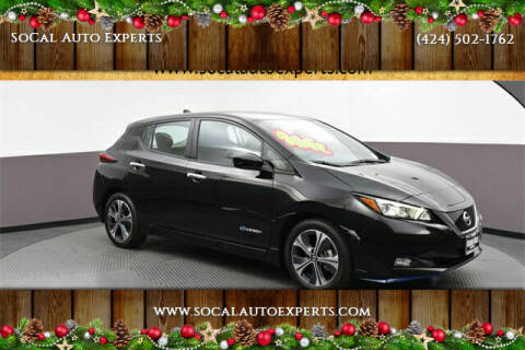 2019 Nissan LEAF for sale at SoCal Auto Experts in Culver City CA