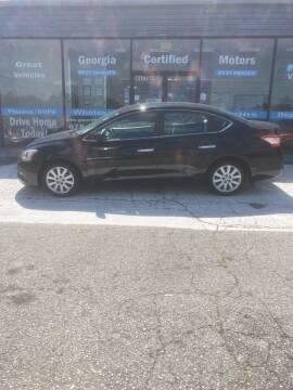 2013 Nissan Sentra for sale at Georgia Certified Motors in Stockbridge GA