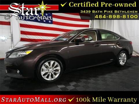 2013 Lexus ES 300h for sale at STAR AUTO MALL 512 in Bethlehem PA