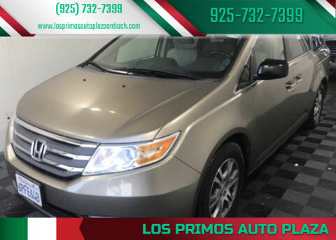 2011 Honda Odyssey for sale at Los Primos Auto Plaza in Antioch CA