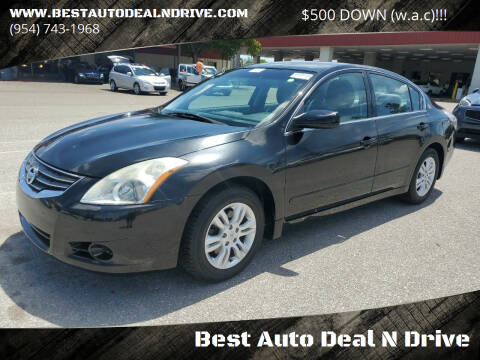 2010 Nissan Altima for sale at Best Auto Deal N Drive in Hollywood FL