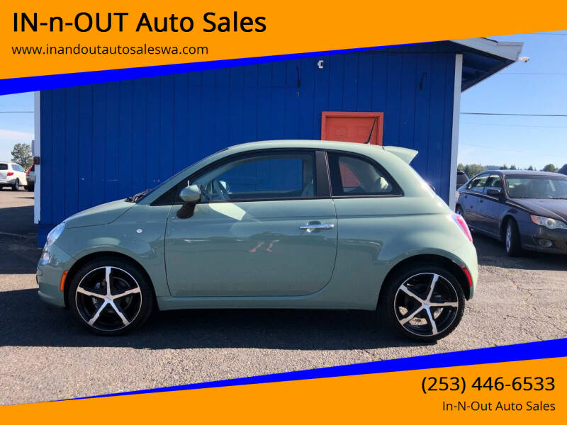 2013 FIAT 500 for sale in Puyallup, WA