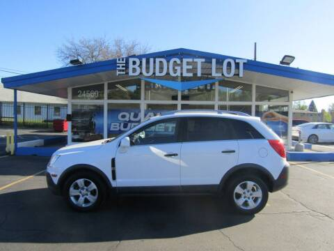 2013 Chevrolet Captiva Sport for sale at THE BUDGET LOT in Detroit MI