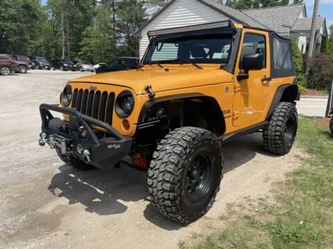 2012 Jeep Wrangler for sale at Williston Economy Motors in Williston VT