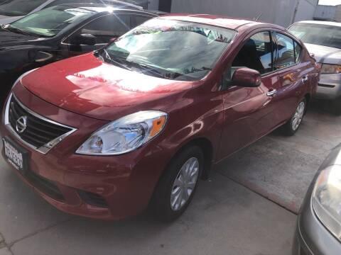 2014 Nissan Versa for sale at Excelsior Motors , Inc in San Francisco CA