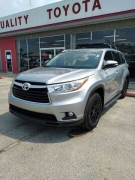 2015 Toyota Highlander for sale at Quality Toyota in Independence KS