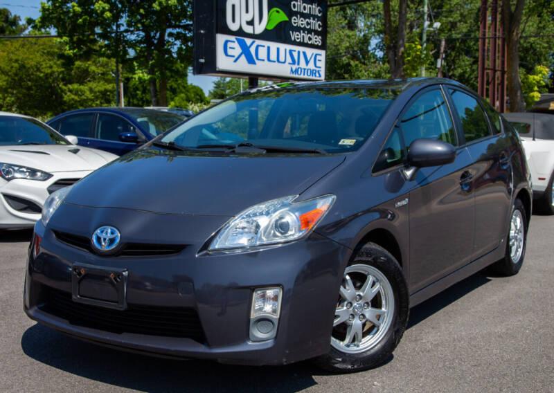 2010 Toyota Prius for sale at EXCLUSIVE MOTORS in Virginia Beach VA