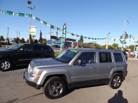 2016 Jeep Patriot for sale at Common Sense Motors in Spokane WA