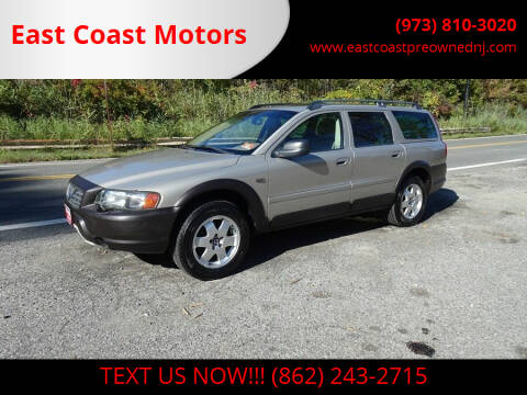 2004 Volvo XC70 for sale at East Coast Motors in Lake Hopatcong NJ