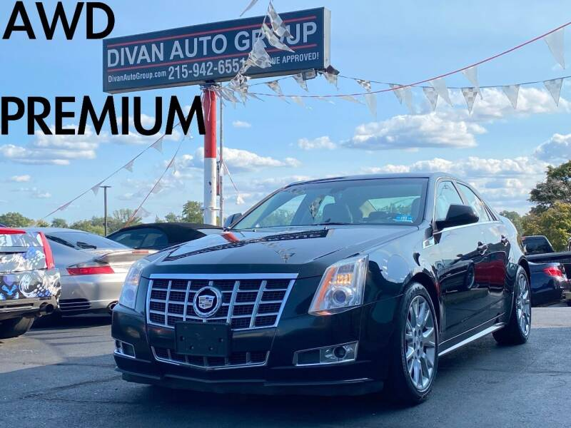 2013 Cadillac CTS for sale at Divan Auto Group in Feasterville Trevose PA