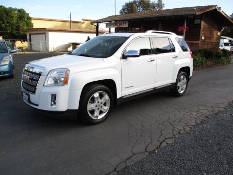 2013 GMC Terrain for sale at Manzanita Car Sales in Gridley CA