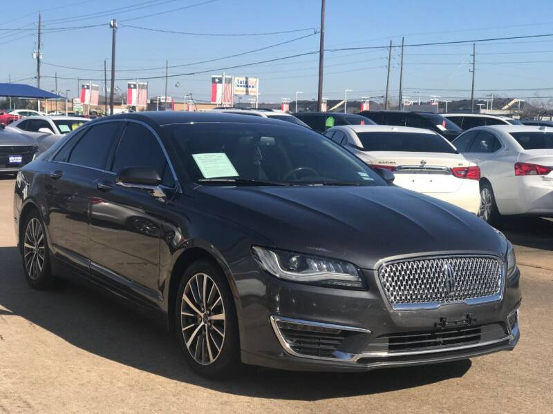 2017 Lincoln MKZ Hybrid for sale in Houston, TX
