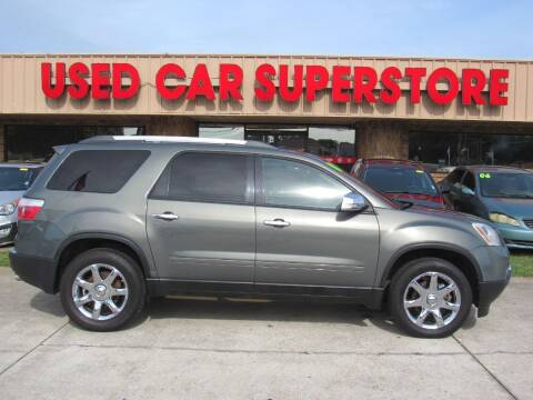 2010 GMC Acadia for sale at Checkered Flag Auto Sales NORTH in Lakeland FL