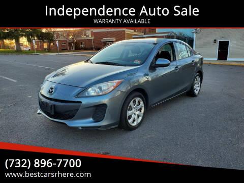 2012 Mazda MAZDA3 for sale at Independence Auto Sale in Bordentown NJ