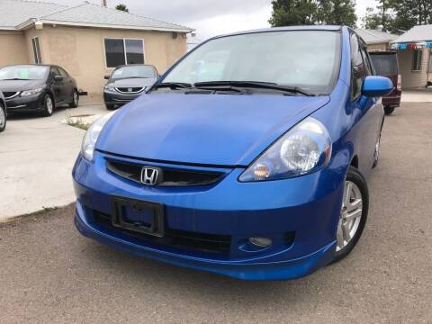 2008 Honda Fit for sale at Vtek Motorsports in El Cajon CA