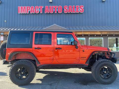 2015 Jeep Wrangler for sale at Impact Auto Sales in Wenatchee WA
