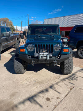 1998 Jeep Wrangler for sale at PYRAMID MOTORS AUTO SALES in Florence CO