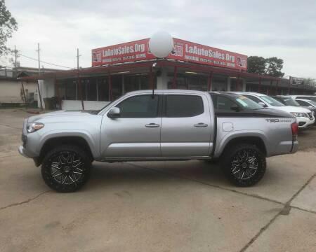 2016 Toyota Tacoma for sale at LA Auto Sales in Monroe LA