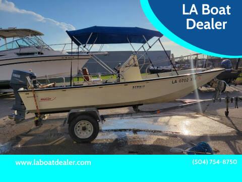1986 Boston Whaler Montauk 170 for sale at LA Boat Dealer - Sport Boats in Metairie LA