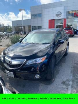 2013 Acura RDX for sale at Nissan of Boerne in Boerne TX