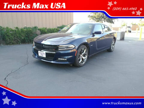 2016 Dodge Charger for sale at Trucks Max USA in Manteca CA