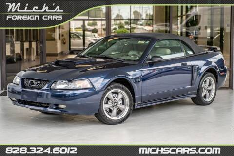 2001 Ford Mustang for sale at Mich's Foreign Cars in Hickory NC
