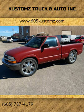 1999 Chevrolet S-10 for sale at Kustomz Truck & Auto Inc. in Rapid City SD